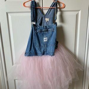 Urban Renewal Lee overall tutu dress